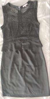 Grey Office/Party Dress (Size S or 4-6)