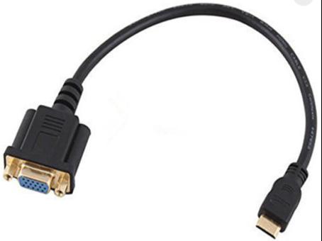 Adaptador HDMI Macho para VGA Femêa