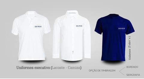 Timbragem de Tshirt, polos, Camisas